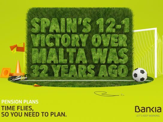 Bankia Print Ad -  Malta