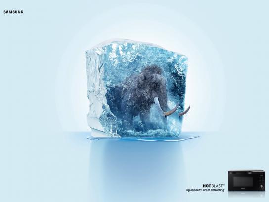 Samsung Print Ad - Mammoth