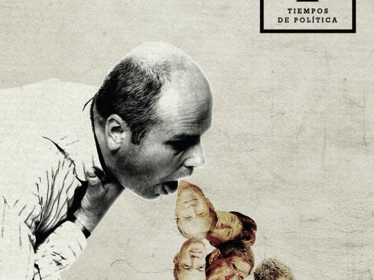 Tiempos de Política Print Ad -  A program that talks about stuff that makes everyone throw up, 5