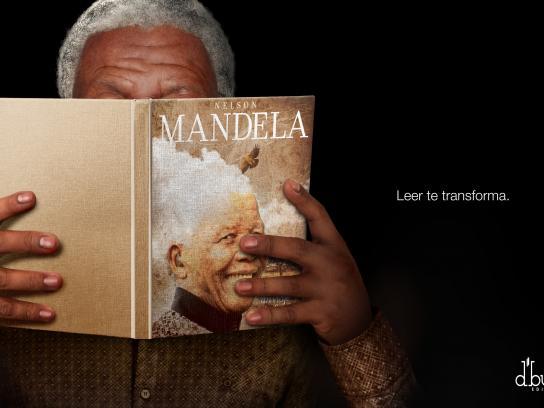 D'Buk Editors Print Ad -  Mandela