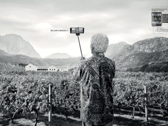 Penguin Print Ad - Selfie – Mandela