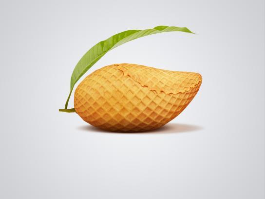 Dairy Fudge Print Ad - Mango