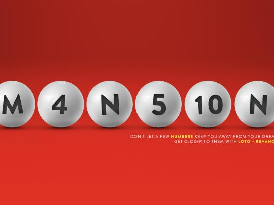 Loto Chile Print Ad - Get Closer To Your Dreams - Mansion