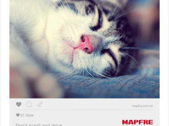 Mapfre Print Ad - Cat