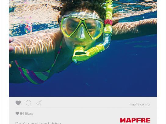 Mapfre Print Ad - Dive