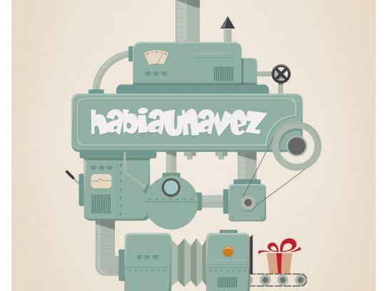 Habiaunavez Print Ad -  Love machine, 1