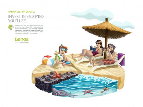 Bankia Print Ad - Marbella