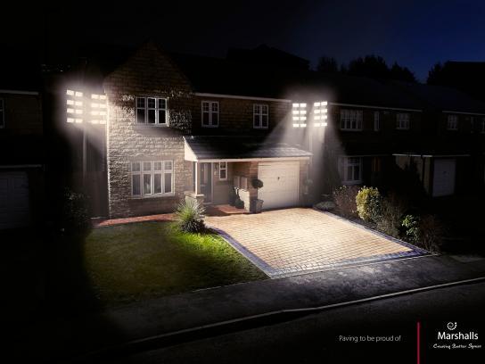 Marshalls Print Ad -  Floodlights