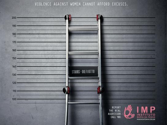 Instituto Maria da Penha Print Ad -  Excuses