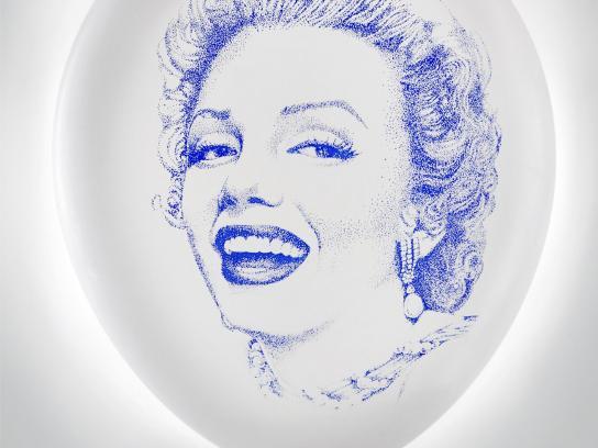 Rotomac Print Ad -  Marilyn