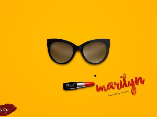Alix Avien Print Ad - Marilyn