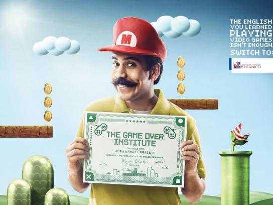 Británico Print Ad -  Mario