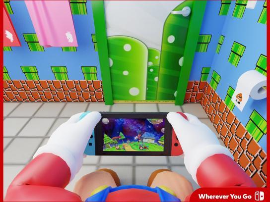 Nintendo Print Ad - Mario