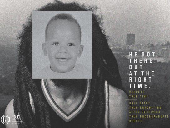 IDE Cursos Print Ad - Marley