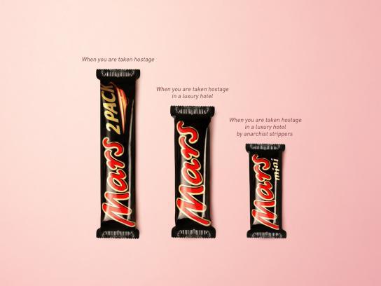 Mars Print Ad -  Hostage