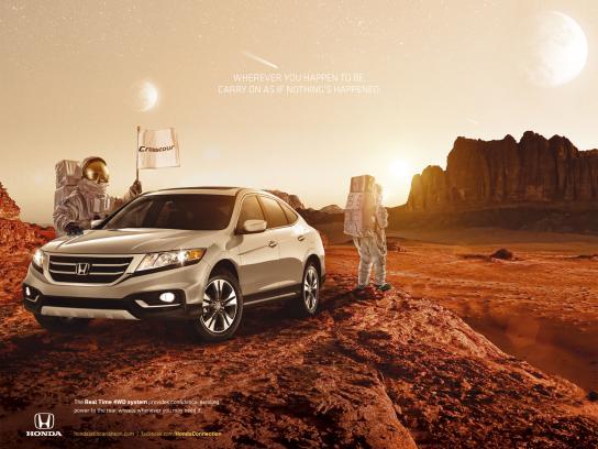 Honda Print Ad -  Mars