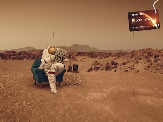Banco Pichincha Print Ad - Mars