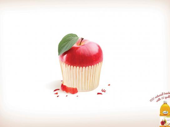 Masafi Print Ad -  Cupcake