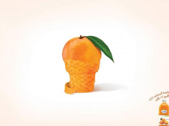 Masafi Print Ad -  Ice cream cone