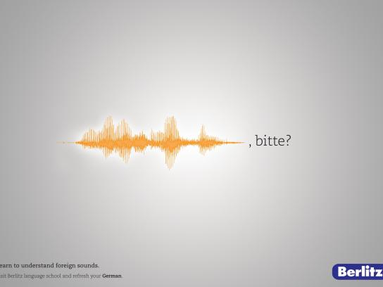 Berlitz Print Ad -  Foreign Sounds, 2