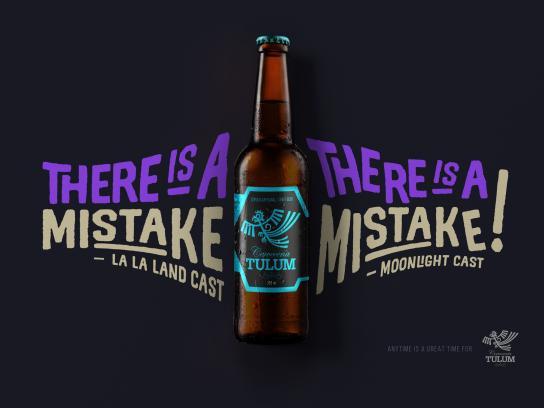 Cerveceria Tulum Print Ad - Mistake