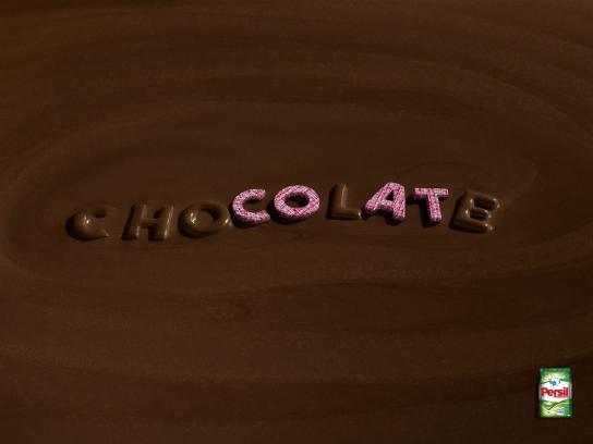 Persil Print Ad - Chocolate