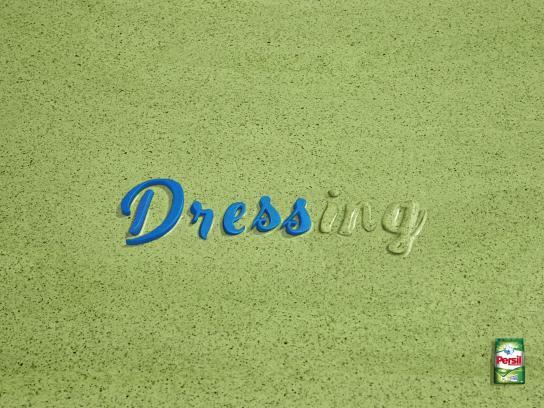 Persil Print Ad - Dressing