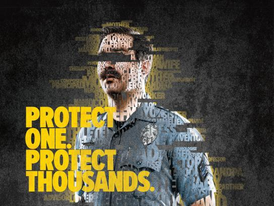 First Responders' Foundations Print Ad - The Protect Effect, 2