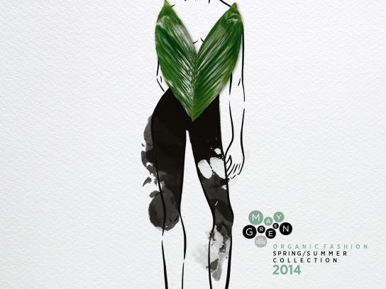 Maygreen Print Ad -  Floral Fashion, 7