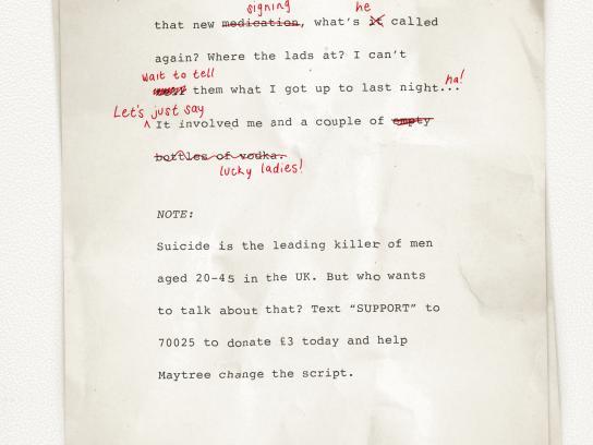 Maytree Print Ad - Brad's script