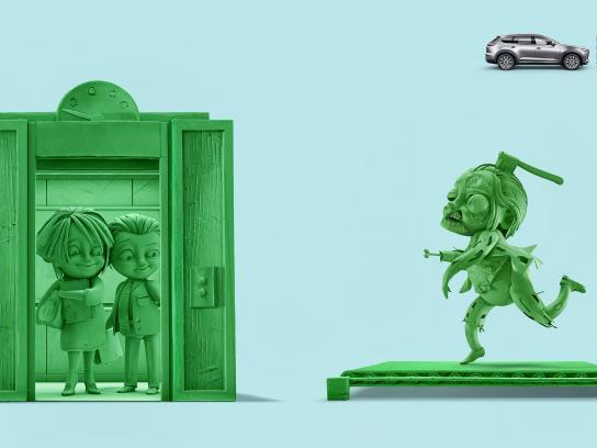 Mazda Print Ad - No More Chase, 3