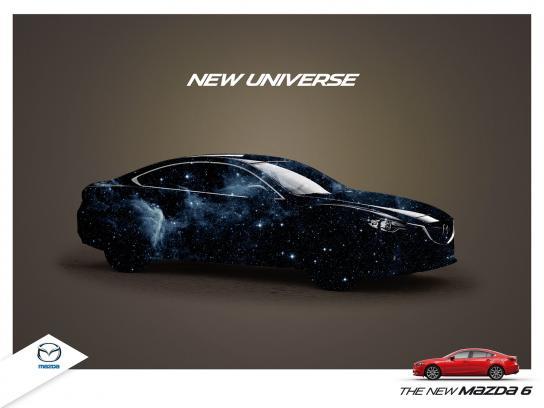 Mazda Print Ad -  New Universe