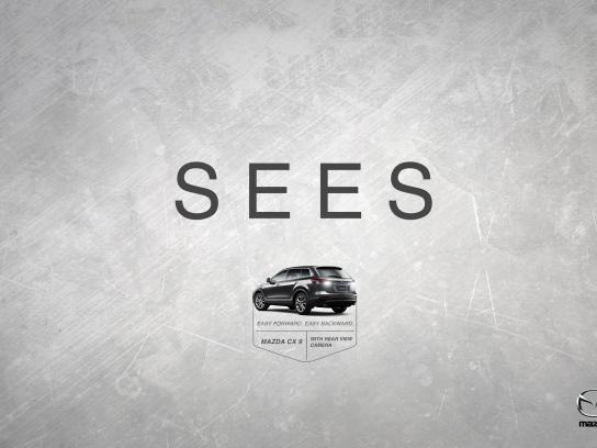 Mazda Print Ad -  Sees