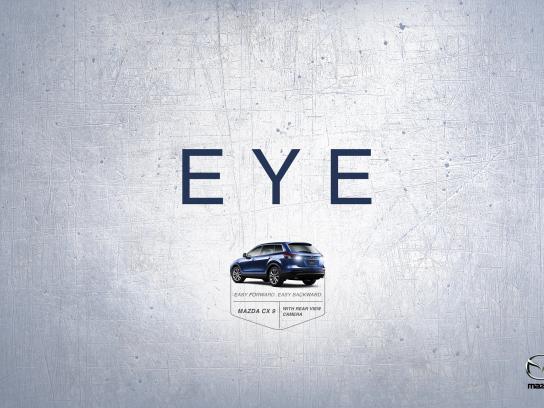 Mazda Print Ad -  Eye