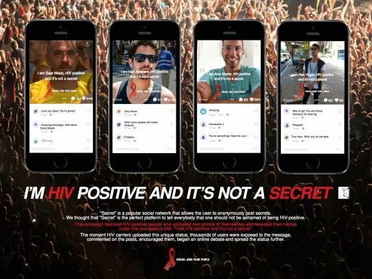 Israel Aids Task Force Digital Ad -  Secret