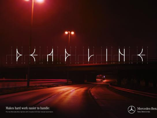 Mercedes Print Ad -  Shiftography - Deadline