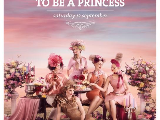 Melbourne Cup Print Ad -  Princess