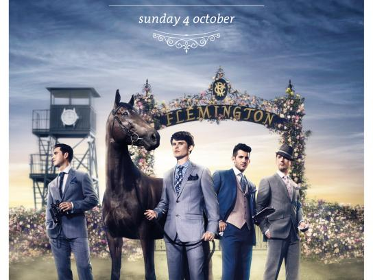 Melbourne Cup Print Ad -  Knights
