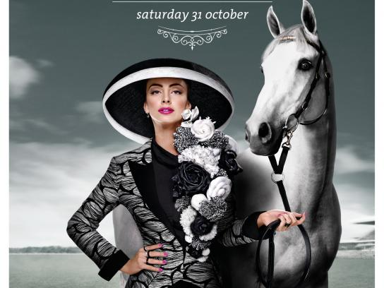 Melbourne Cup Print Ad -  Day of Days
