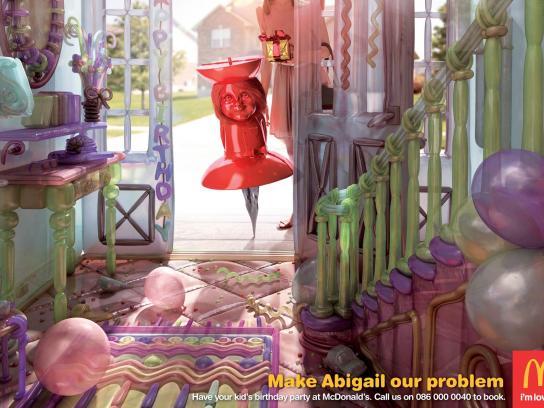 McDonald's Print Ad -  Abigail