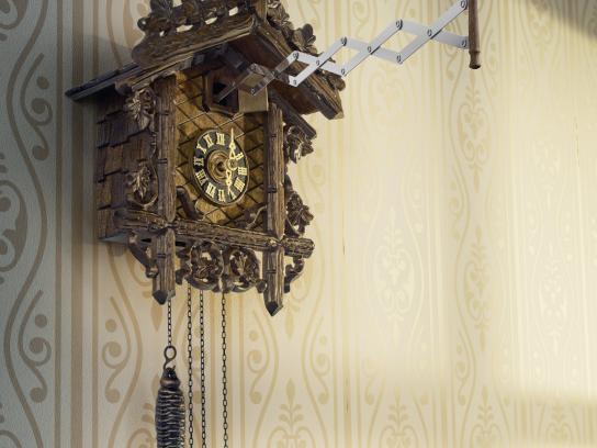 McCafé Print Ad - Cuckoo clock