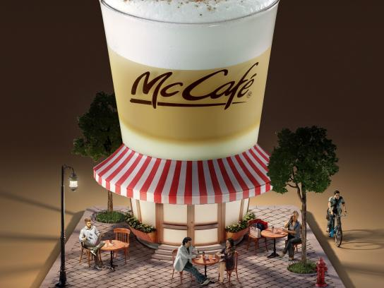 McDonald's Outdoor Ad -  Real Café Mood
