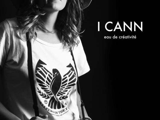 McCann Print Ad - I Cann - Paula Delgado