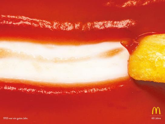 McDonald's Print Ad -  60th anniversary