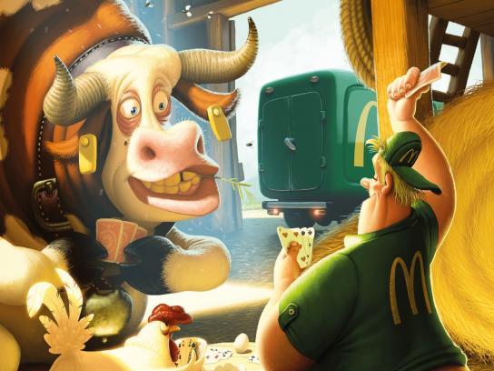 McDonald's Print Ad -  Make new friends