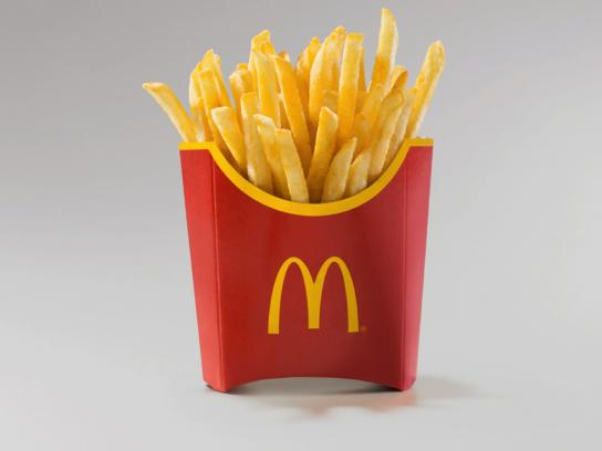 McDonald's Outdoor Ad - French Fries