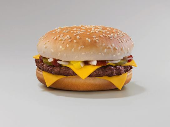 McDonald's Outdoor Ad - Quarter Pounder