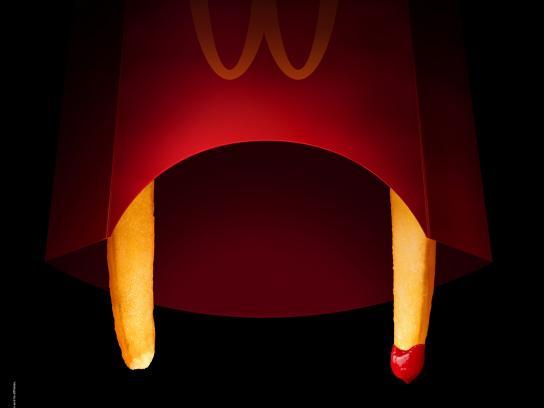 McDonald's Outdoor Ad -  Happy Halloween