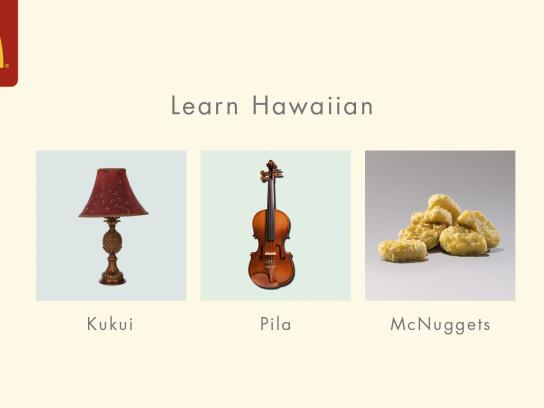 McDonald's Outdoor Ad - Hawaiian