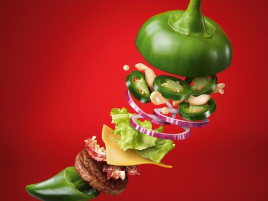 McDonald's Print Ad - Jalapeno Burger